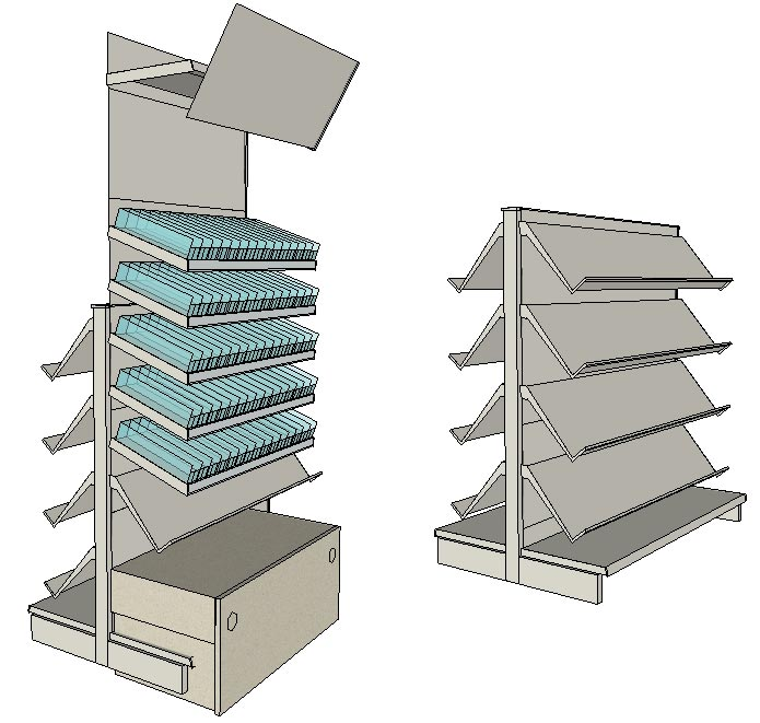 tegometall zubeh r stracke ladenbau tegometall service center. Black Bedroom Furniture Sets. Home Design Ideas