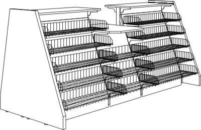 tankstellentheke stracke ladenbau tegometall service center. Black Bedroom Furniture Sets. Home Design Ideas