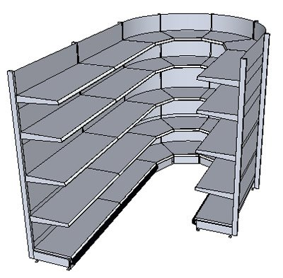 u regal stracke ladenbau tegometall service center. Black Bedroom Furniture Sets. Home Design Ideas