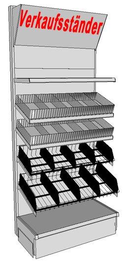 verkaufsst nder stracke ladenbau tegometall service center. Black Bedroom Furniture Sets. Home Design Ideas