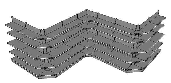 w regal stracke ladenbau tegometall service center. Black Bedroom Furniture Sets. Home Design Ideas