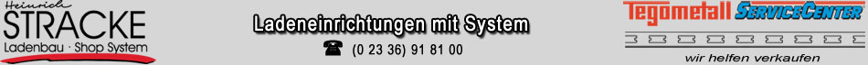 Stracke Ladenbau - Tegometall Service Center