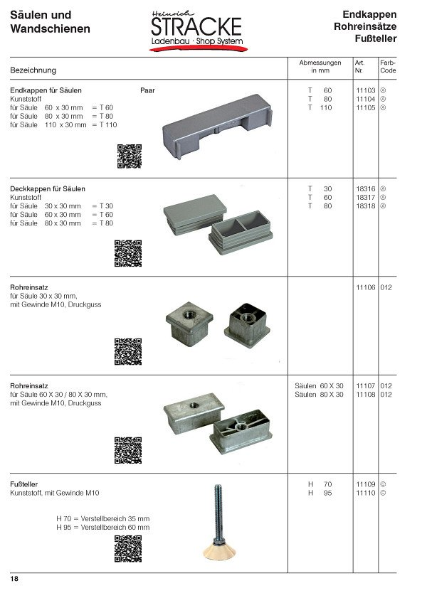 Tegometall Katalog | Stracke Ladenbau | Tegometall Service Center